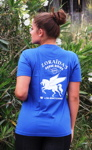 Shirt royal back