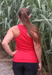 Tank Top red back